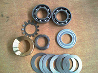 2-250-19-4320 ремкомплект до валу для нанесення клею до верстатів: KD5x, KDx3xx