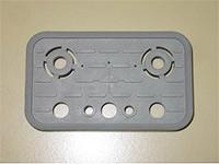 4-011-11-0196 накладка фрикційна верхня 125X75