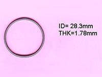 4-012-02-0053 кільце до клеєвого вузла розмір: 28,30X1,78